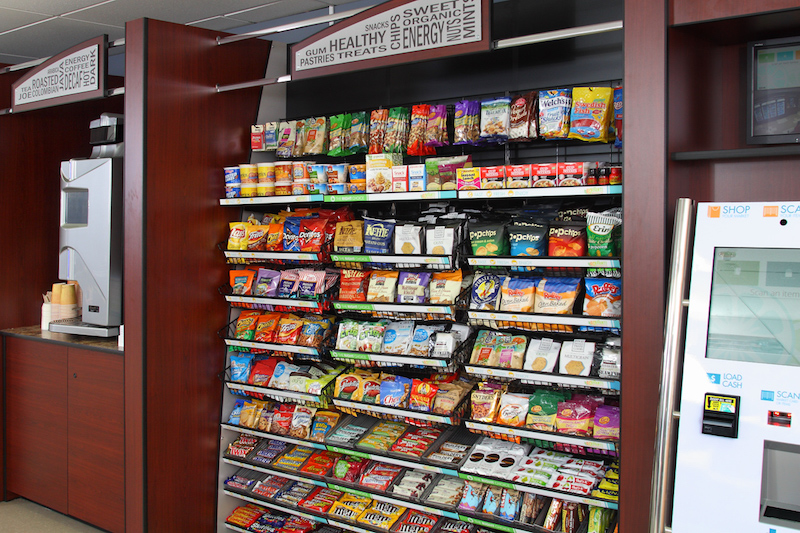 Micro-markets and vending machines in Las Vegas, Southern California and San Diego