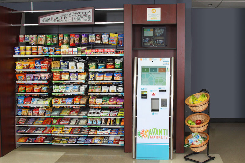 Las Vegas, Southern California and San Diego micro-markets and vending machines
