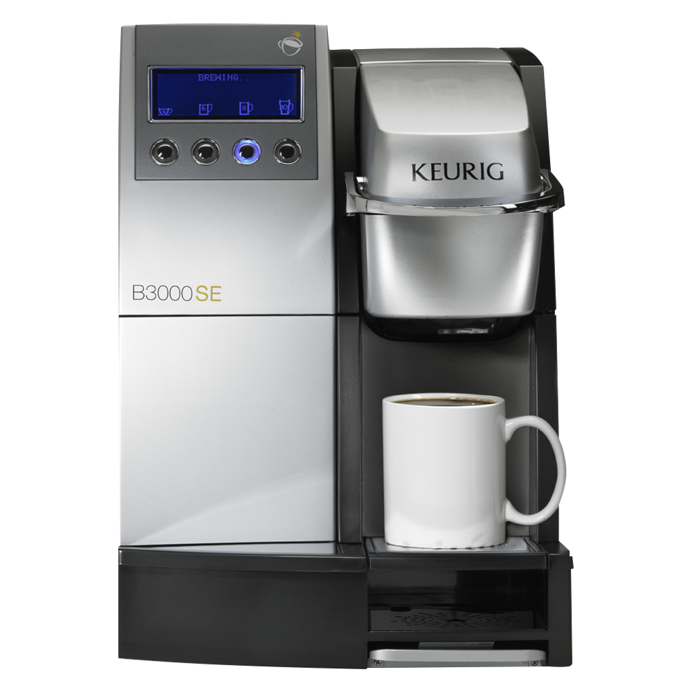 Single cup office coffee brewer
