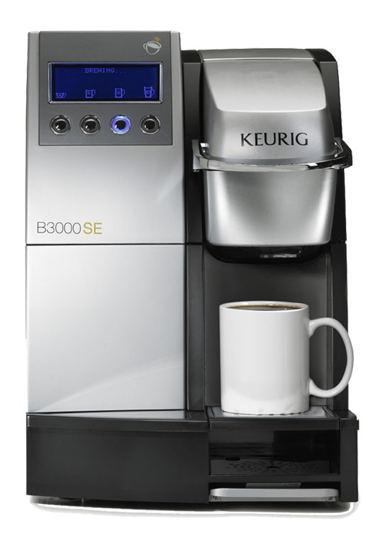 Single cup brewer and vending machine